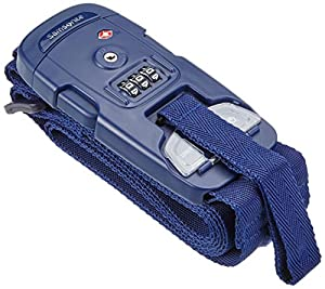 Samsonite Travel Accessories Us 3 Combi Strap Scale Bilancia Pesa Valigie, Indigo Blue, 25 cm