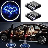 MIVISO 2 Stück Drahtlose Autotür Led Willkommen Laser Projektor Batman Logo Licht Geist Schatten Lampe Logos