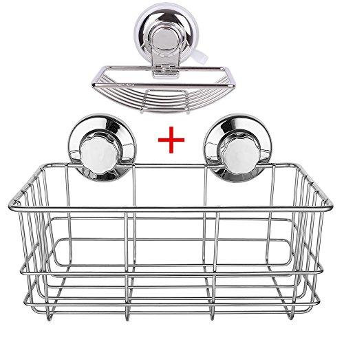 pas-de-percage-etagere-de-douche-rangement-organisateur-porte-savon-a-ventouse-acier-inoxydable-cadd