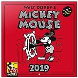Grupo Erik Editores CP19022 - Calendario 2019 Disney Mickey 90 Anniversary, 30 x 30 cm