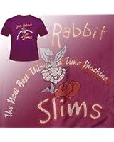 Pulp Fiction Jack Rabbit Slims movie t-shirt on a burgundy tee (s-xxl)