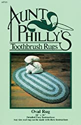 Aunt Philly s Toothbrush Quilts AP101 Oval Toothbrush Rug