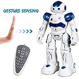 SGILE Ferngesteuerter Roboter mit Selbstausgleich und bewegungserfassung Technologien LED Fernbedienung Spielzeug für Kinder