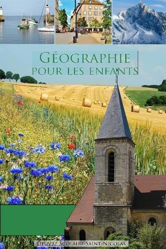 Géographie pour les enfants par Dominique Carcassonne