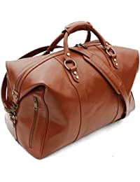 AR London - Bolsa de viaje  Mujer Hombre unisex adulto marrón Potters Clay large