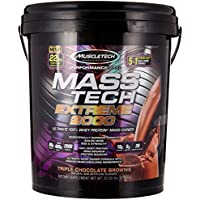 Muscletech Products - brownie triple extrême 2000 de chocolat de technologie de masse - 22lbs.