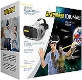 Heromask: Das VR-Sprachlernspiel um Englisch, Französisch, Spanisch oder Chinesisch zu lernen. [VR-Brille enthalten]