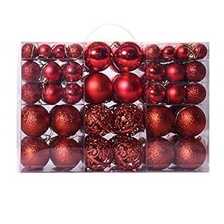 Bolas para decoración de árbol de Navidad, 100 unidades, color dorado