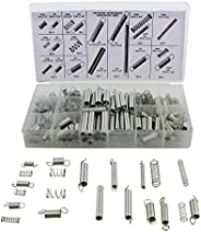 20 Kinds Spring Assortment Kit Zinc Plated Steel Extension Springs Assortment 200 Piece Repair Accessory Sets