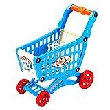 Simula Carrello della Spesa Supermercato Finta Gioca Giocattoli Mini Carrello in plastica Gioca Giocattolo Regalo per Bambini (Multicolore) (Togames)