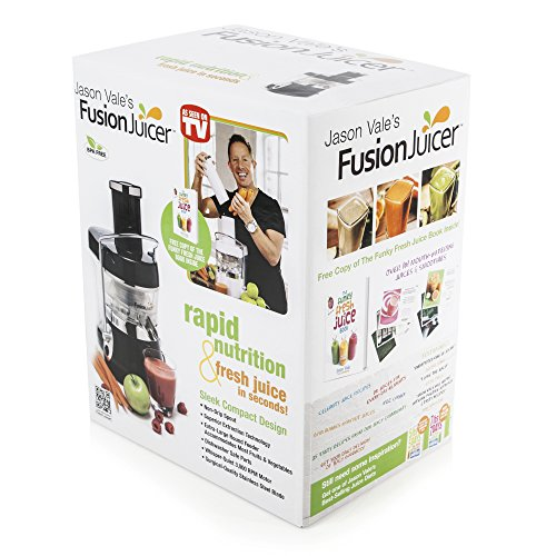 Jason Vale Fusion MT10202B Juicer - Black