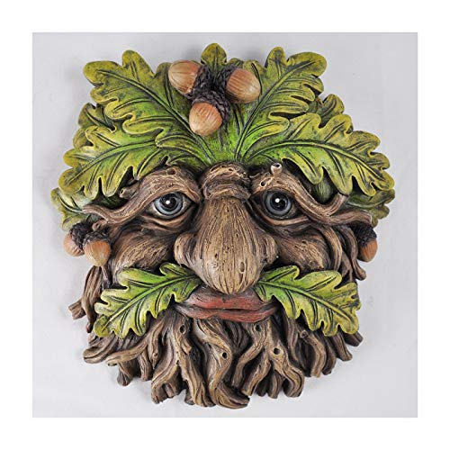 Arbre Ent visage plaque murale Trunkcorn Grand Jardin, Greenman Cadeau décoratif Décor. 16 cm