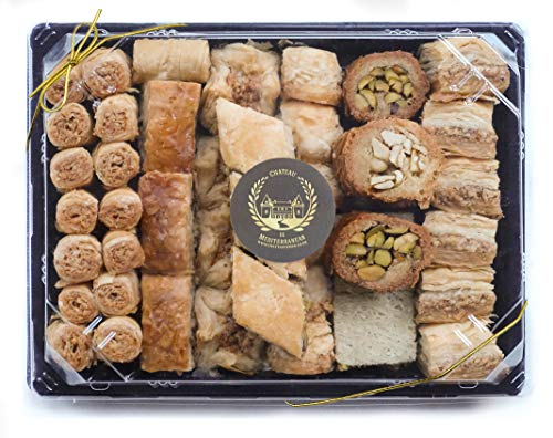1kg Assorted Baklawa Baklava Home Made Recipe Freshly Baked and Shipped UK, Chateau de Mediterranean