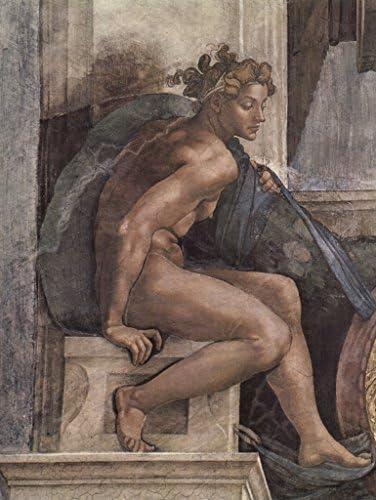 Lais Lais Lais Puzzle Michelangelo Buonarroti Plafond fresque sur l'histoire de la création dans la Chapelle Sixtine, Jeune Homme 2000 Pieces   Une Bonne Conservation De Chaleur  8d9aee