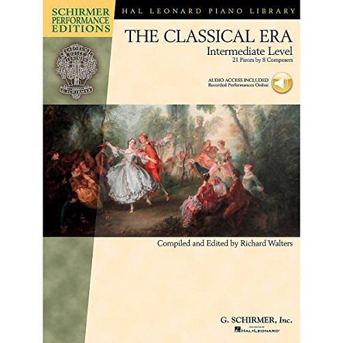 The Classical Era: Intermediate Level (Schirmer Performance Editions). Partitions, Downloads pour Piano