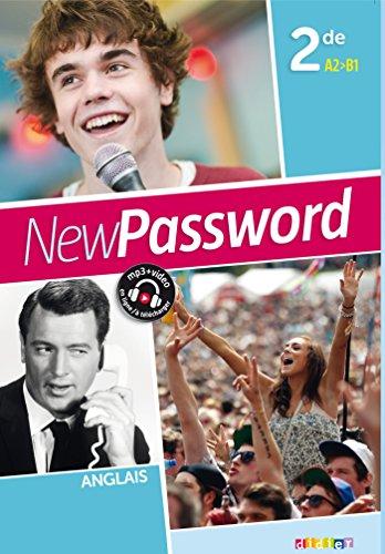 New Password English 2de - Livre