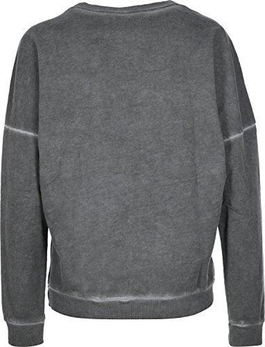 Adidas PE Washed W sweat gris blanc chiné