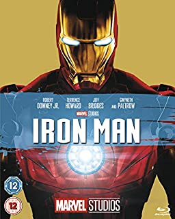 Iron Man [Blu-ray] [Region Free] (B00F3TCF9W) | Amazon price tracker / tracking, Amazon price history charts, Amazon price watches, Amazon price drop alerts