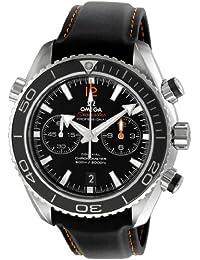 Omega de hombre 232.32.46.51.01.005Seamaster Planeta Océano Negro Dial reloj