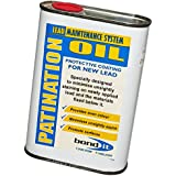 Bond-It Patination oil - 500ml can for lead flashing - stops the white stains that are caused by oxidation