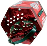 Scarlatti - GR4711R - accordeon SC-20R Concertina - Rouge