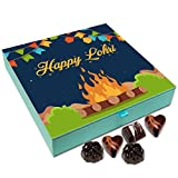 Chocholik Lohri Gift Box - Happy Lohri to All Chocolate Box - 9pc