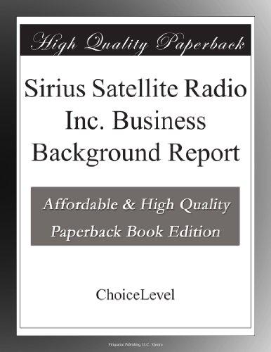 Sirius Satellite...