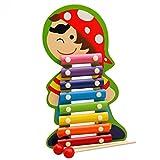 Originaltree 8 Hinweis Holz Xylophon Musikinstrument Spielzeug mit 2 Mallets für Kinder Kleinkinder Weisheit Entwicklung size Junge