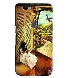 Clarks Printed Designer Back Cover For Huawei Google Nexus 6P