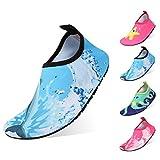 Qimaoo Kinder Badeschuhe Leicht Schwimmschuhe Schnell Trocknend Wasserschuhe Casual Strandschuhe Baby Surfschuhe Aquaschuhe für Mädchen und Jungen