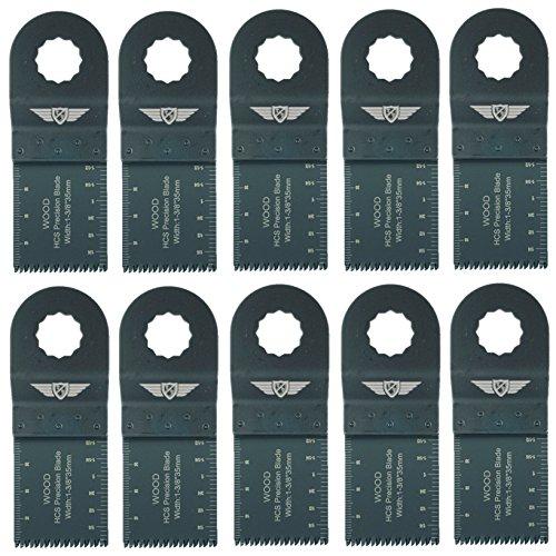 10x topstools wx35j _ 1035mm Japan grob geschnittene Klingen für Worx Sonicrafter, Worx 250W, Erbauer Multitool Multi Tool Zubehör