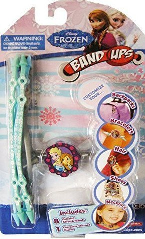Disney Frozen Band-Ups with Elsa & Anna Charm
