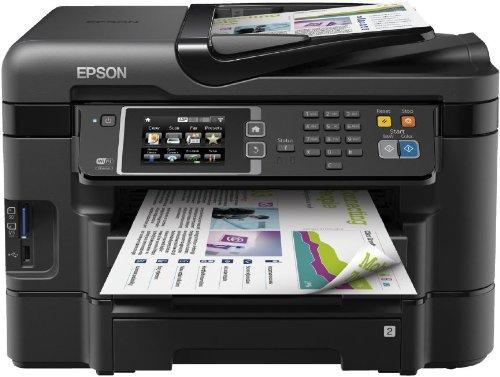 epson wf3640 Epson WF-3640DTWF Multifunktionsgerät (Scanner, Kopierer, Drucker und USB) schwarz