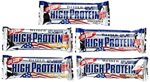 Weider Low Carb High Protein Bar, Mix-Box, 1er Pack (24 x 50g)