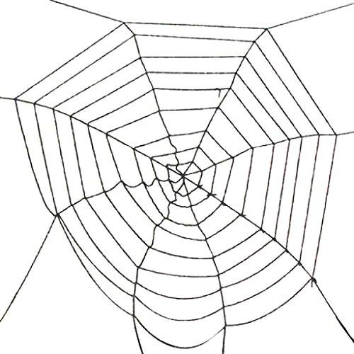 neu schwarz Spinne Netz / Spinnweben für Halloween (Spinnen Dekor Halloween)