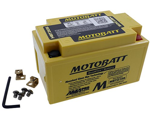 Batteria MOTOBATT MBTZ10S, 4poli, 12V 8,6AH 151X 87X 95mm