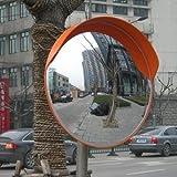 Espejo convexo de seguridad 457123 espejo curvo para transito con angulo ancho de 45 cm
