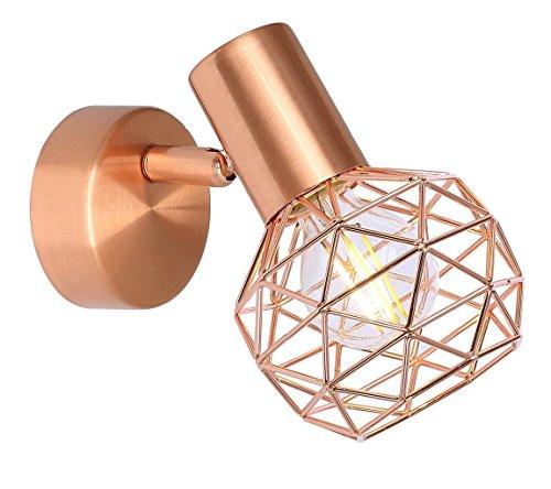 Impresionante de 1Luces, lámpara de pared Lámpara Globo de cobre Escalera xara 54805-1