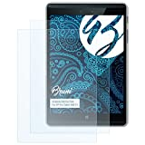 Bruni Schutzfolie für HP Pro Tablet 608 G1 Folie, glasklare Bildschirmschutzfolie (2X)