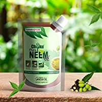 Chipku - Organic Cold Pressed, Water Soluble,Pure Neem Oil Pouch for Plants & Garden 200 ml with Free Measuring Cup