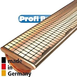 Dachrinnenschutz DARI FIX   Profipaket: 30MTR (Braun   Für Kupferdachrinnen)