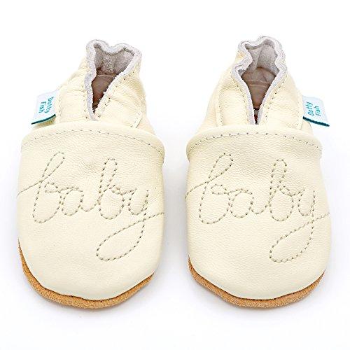 Weiche Baby und Kleinkind Lederschuhe - Dotty Fish - Mädchen - Herzen Baby Baby