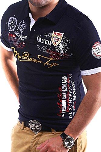 MT Styles Poloshirt TRIP T-Shirt MP-302 Dunkelblau