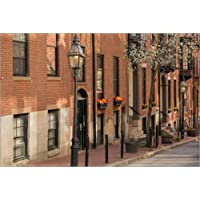 Poster 120 x 80 cm: Residence in the Beacon Hill neighborhood di Steve Lewis Stock / Getty Images - stampa artistica professionale, nuovo poster artistico