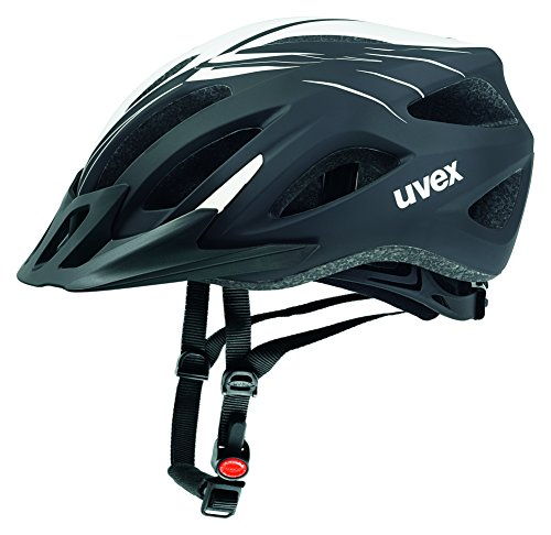 Uvex Fahrradhelm Viva 2, Scream Black-White Mat, 52-57 cm