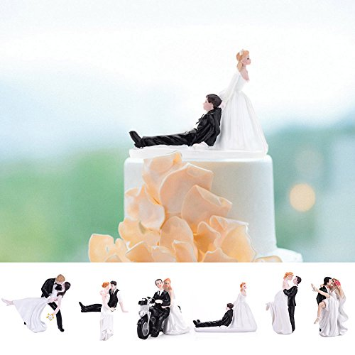LianLe Wedding decoration for Cake for huging Bride and Groom Figure Decorating Cakes