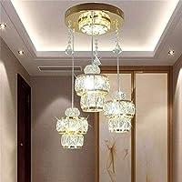 LED, Araña de cristal , creativa, fácil 3 de ciclo en Invisible poste de