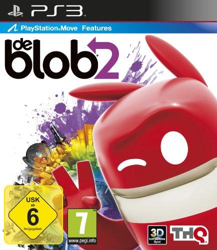 De Blob 2 (Kinder Ps3 Spiele Move)