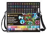 Chameleon Art Products - Marqueurs Chameleon Pens, 52 de luxe marqueurs à base d'alcool
