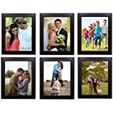 Printelligent Memory Wall Photo Frame Set Classic Set Of 6 Individual Photo Frames 6 10 Inch X 12 Inch Photo Frames